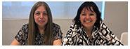 Ana Victoria Bardoneschi y Paula Elisa Kvedaras