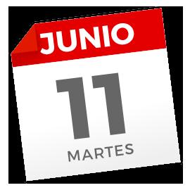 Martes, 11 de junio de 2019