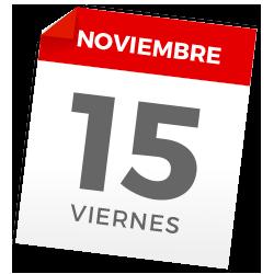 Viernes, 15 de noviembre de 2019